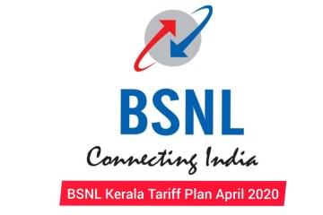 Bsnl Tariff Card April 2020