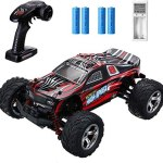 EACHINE Remote Control Car for Kids Adults,EC09 RC Car High Speed 1:20Scale 40+ KM/H 4WD Off Road Monster Trucks,2.4GHz All Terrain Toy Trucks with 2 Rechargeable Battery,40+ Min Play Gifts for Boys