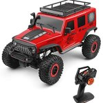 GoolRC WLtoys 104311 RC Car, 1/10 Scale 4WD 2.4Ghz Remote Control Car, Brushed Motor Off-Road Crawler Car RTR for Kids and Adults