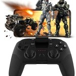 Mobile Game Controller, arVin Android Wireless Bluetooth Mobile Gamepad Joystick For Fotnite, COD PUBG & More FPS Shooting Fighting Racing Games, Support Android 5.0 + Smart Phone, TV Box, Tablet & PC
