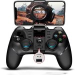 PG-9156 Wireless 4.0 +2.4G Mobile Online Games Gamepad Controller for Samsung LG VIVO Oppo MI Mate Android Mobile Smartphone Tablet (Android 6.0 Higher System)