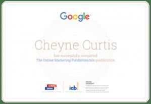 Google SEO Marketing Certification