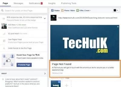 PagenotfoundFacebook