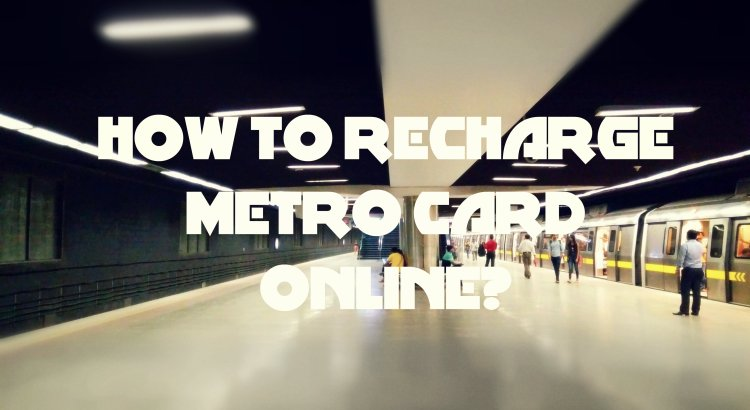 Recharge Metro Card Cover