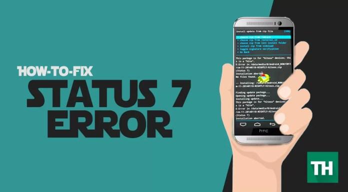 Status 7 Error