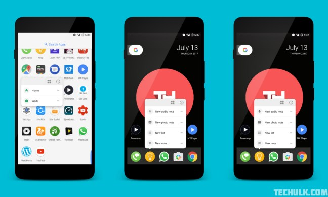Pixel Launcher Android O