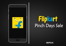 Flipkart Pinch Days Sale