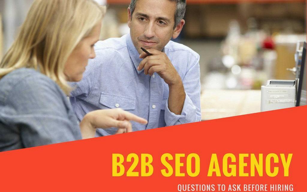 b2b seo agency