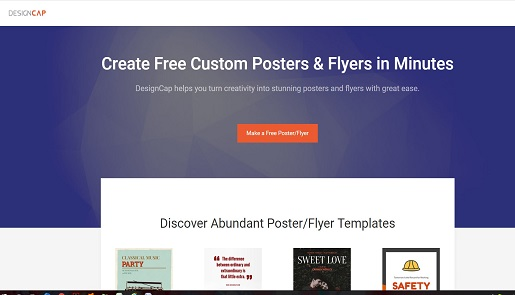 Free online Posters and Flyers Maker Software