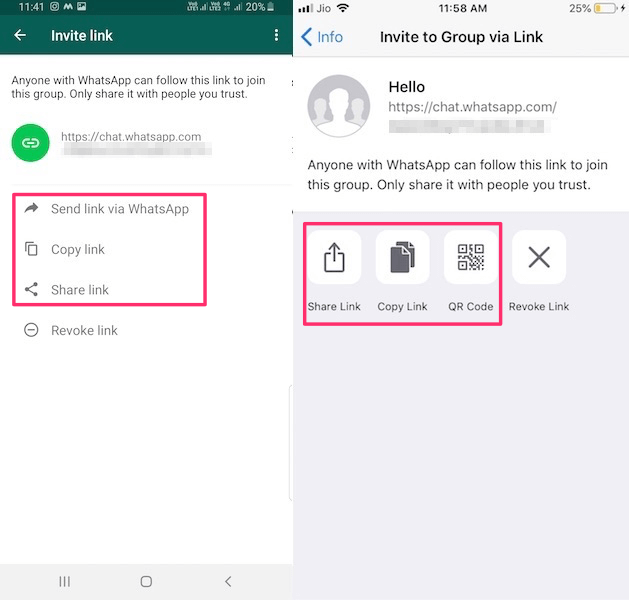 How To Add/Invite People To WhatsApp Group By Sharing A Link   TechUntold