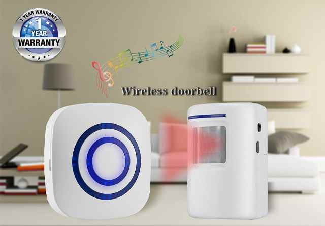 Infrared Motion Sensor Alarm