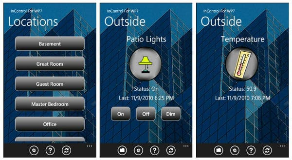 homeseer home automation apps