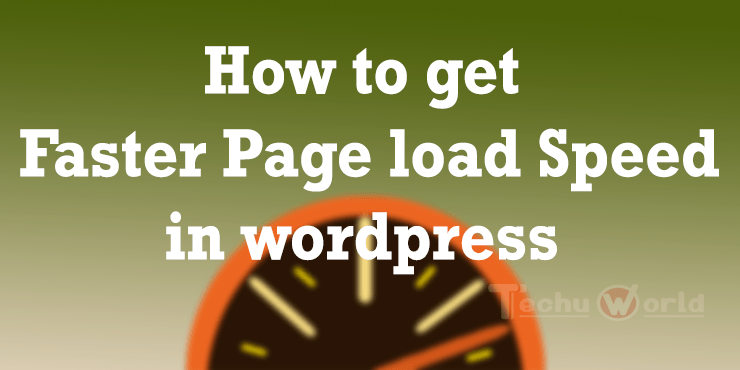 how to get faster page load speed