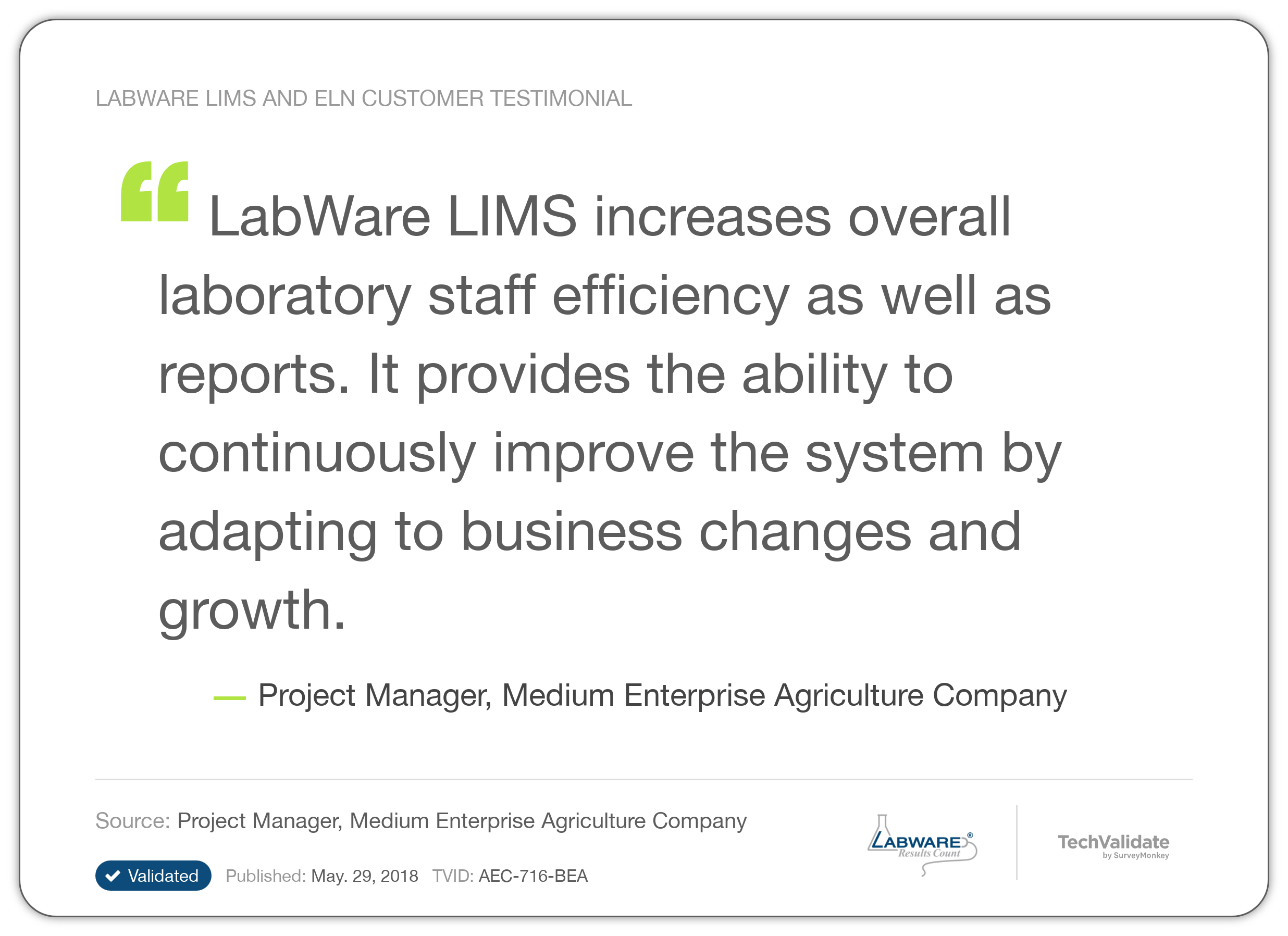 Labware Lims And Eln Techfact Labware Lims And Eln