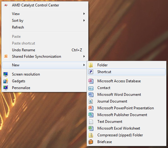 How to Turn Off a Monitor using a Desktop Shortcut on Windows 2