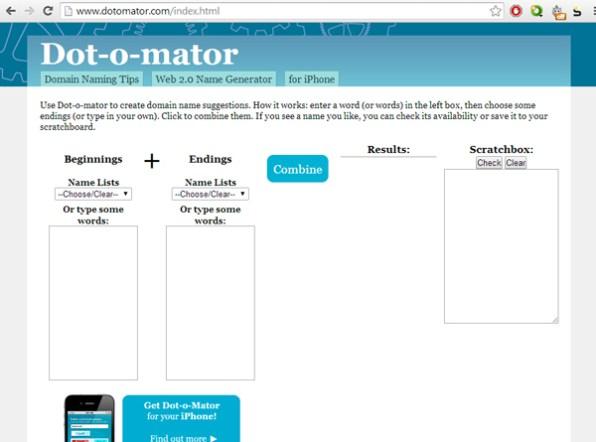 dotomator-domain-name-generator