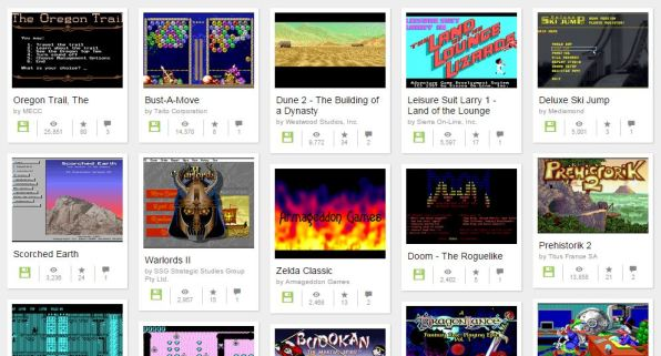 Play over 2,400 MS-DOS Videogames in your Browser for Free