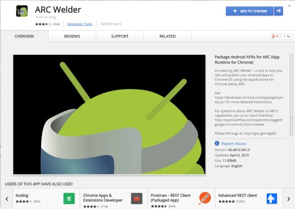 arc-welder-android-google-play-store