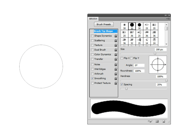 Why-doesn't-the-Brush-Shape-Outline-doesn't-show-in-Photoshop