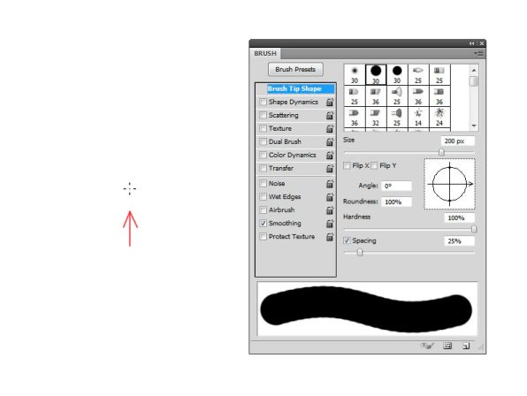 Why-the-Brush-Shape--Outline-doesn't-show-in-Photoshop