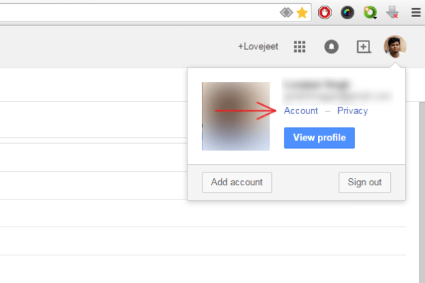 click-on-account-gmail