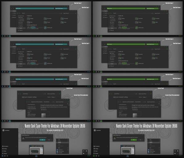 numix_dark_cyan_and_green_theme_win10_build_10586__by_cleodesktop-da2wngy