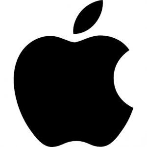 apple logoblack
