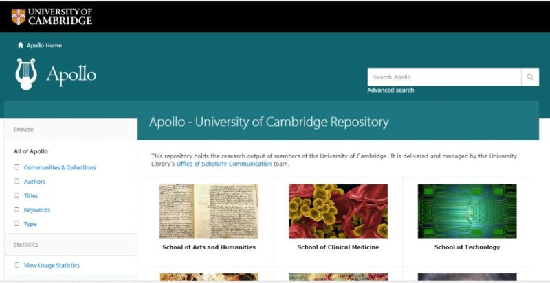 Apollo - University of Cambridge Repository