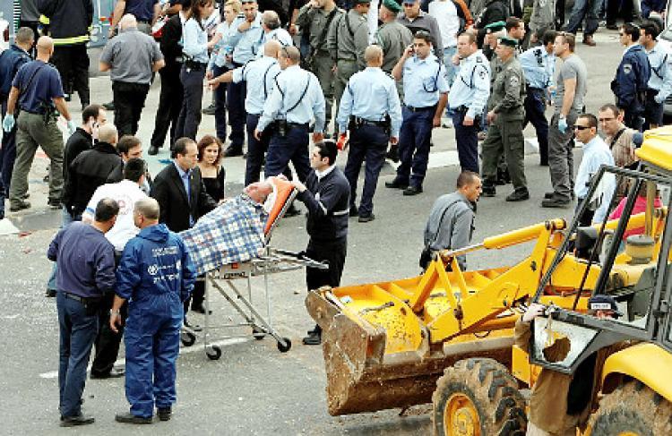 Bulldozer attack Palestine facebook