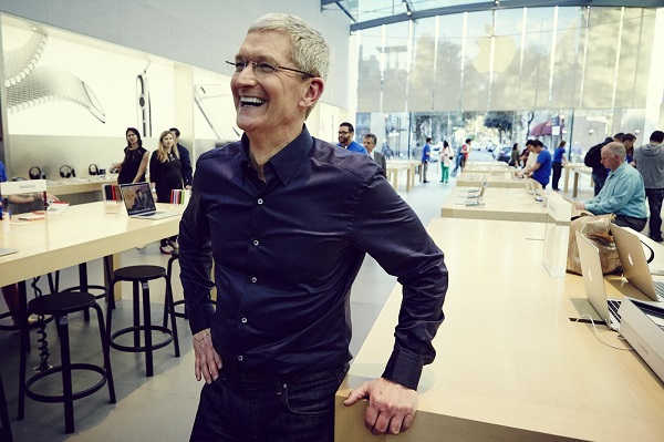 Tim Cook Charity Lunch