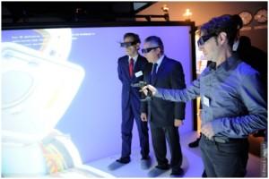 Inauguration showroom TechViz 2013