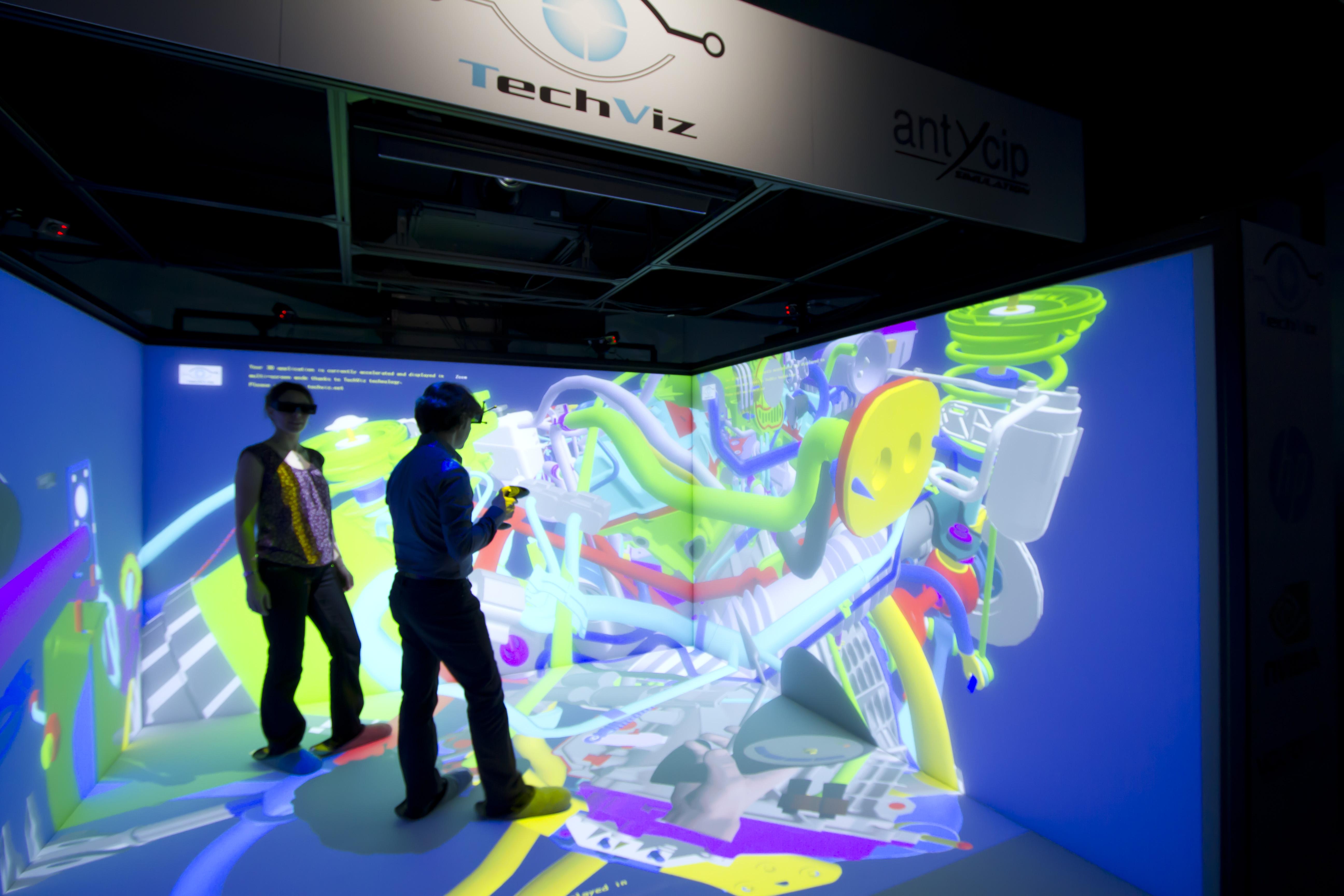 1a14e58f385 Immersive Room - Virtual Reality Showroom - 3D visualization