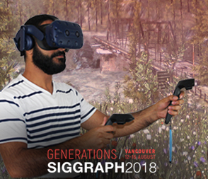 14-16 Aug | Try VR at SIGGRAPH 2018