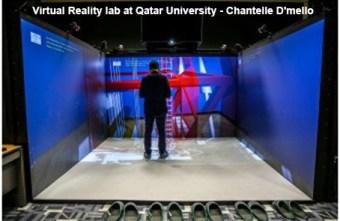 Virtual Reality lab at Qatar University