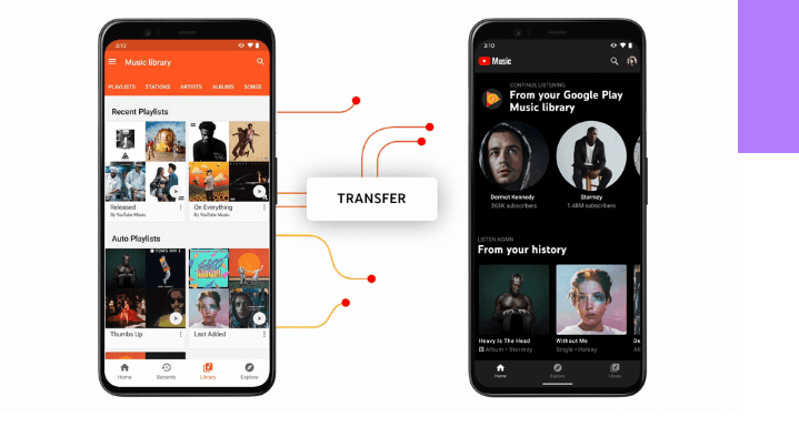 Transfer from Play Music to YouTube Music