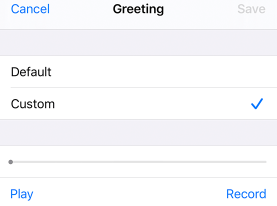 Apple iPhone Voicemail set up