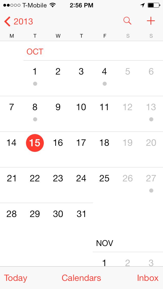 Remove Facebook Birthdays from iPhone Calendar