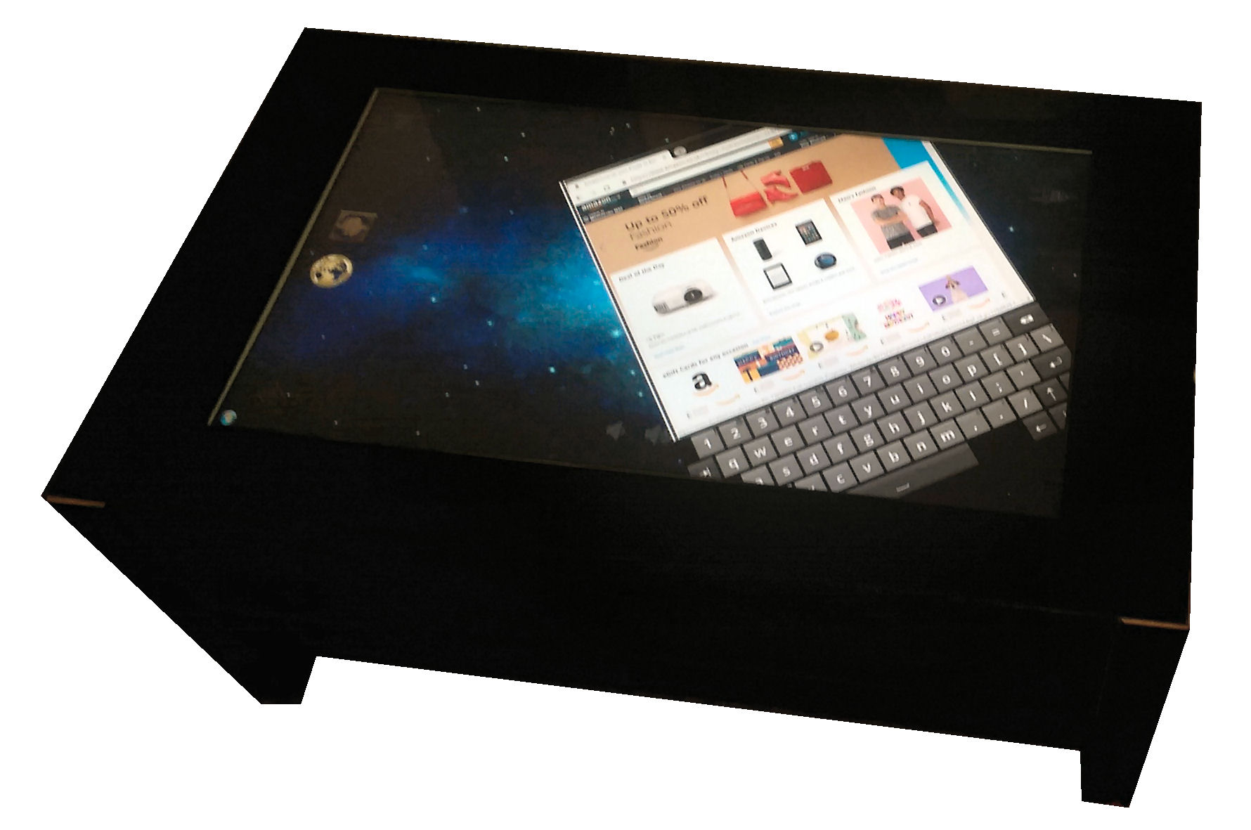 jigabyte touch screen coffee table