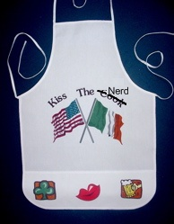 Kiss the Nerd Apron