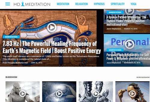 Learn and Practice Meditation, Hypnosis and Yoga Online