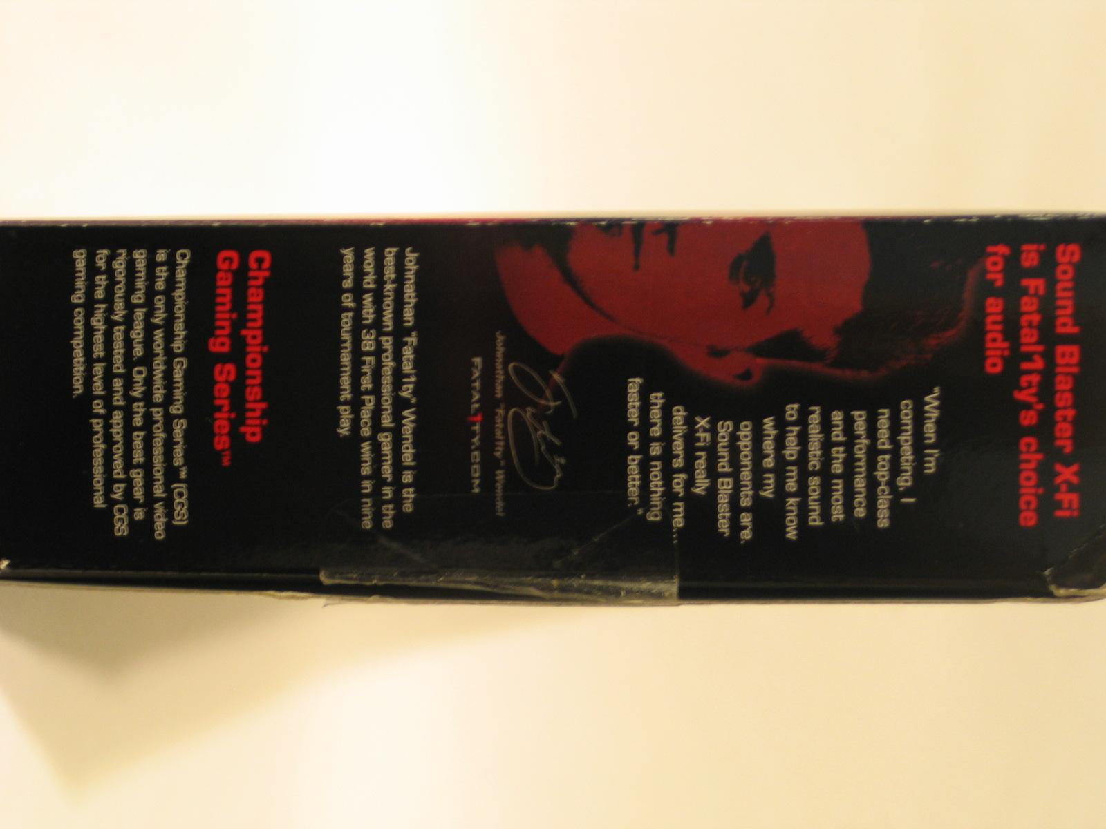 Sound blaster x-fi titanium fatal1ty professional series manual pdf