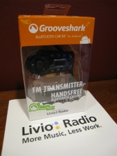 Grooveshark Bluetooth Kit by Livio Radio