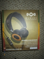 House of Marley Redemption Song On-ear Headphones Box View