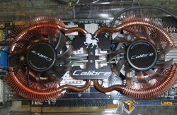 Calibre 9800GTX+ Close Up