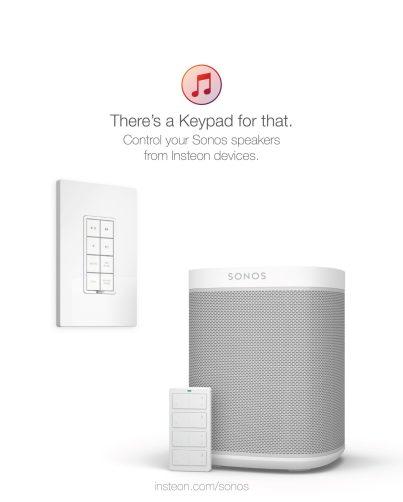 Insteon + Sonos