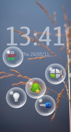 Nokia bubbles