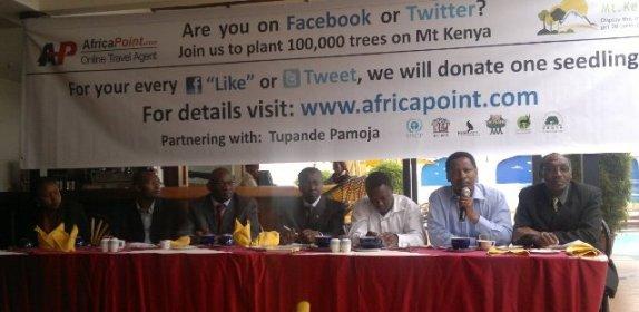 Save Mount Kenya