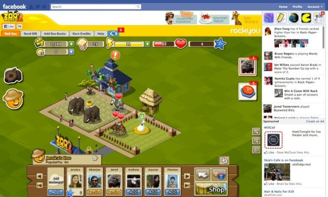 facebook games revamp