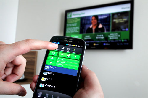 Galaxy S III Hotel checkin Olympics