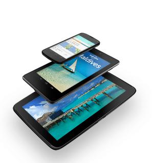 Google Nexus 4, 7 and 10